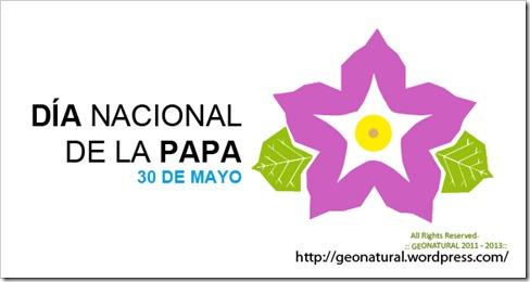 30 DE MAYO: Día Nacional de la Papa